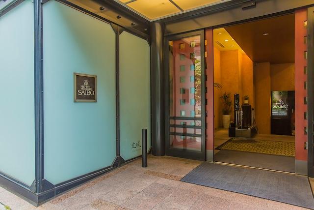 ホテル日本橋サイボー 玄関