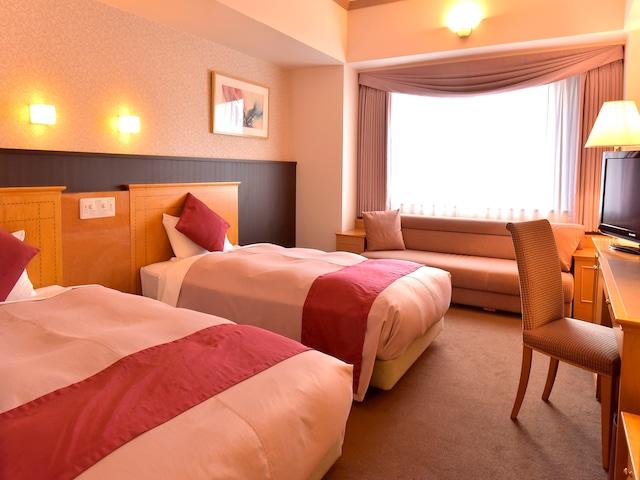 札幌クラッセホテル デラックスツイン 32㎡