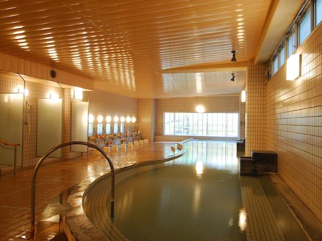 花びしホテル 男性温泉大浴場「ひしの湯」 内風呂