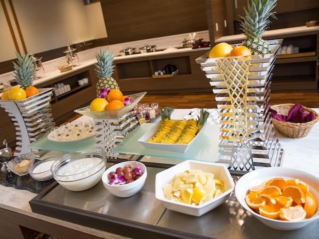 花びしホテル 朝食バイキング フルーツ