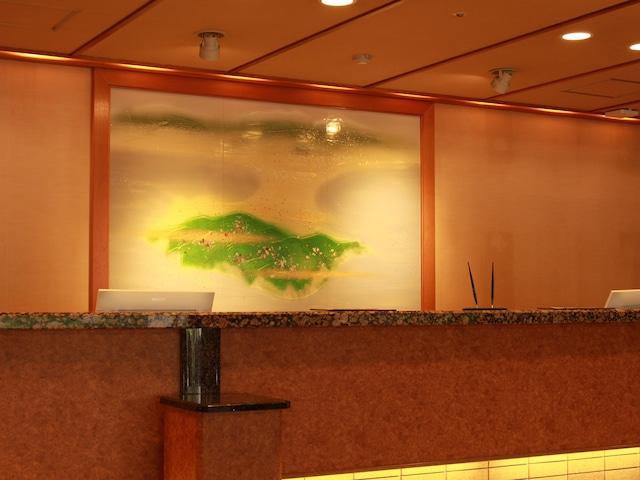 花びしホテル フロント