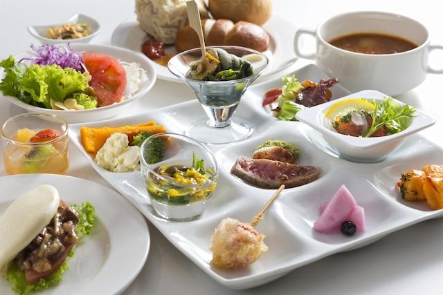 ザ レイクビューTOYA 乃の風リゾート 乃の風ブッフェ 朝食 一例