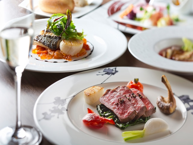 ザ レイクビューTOYA 乃の風リゾート 和風フレンチレストラン「風の音」