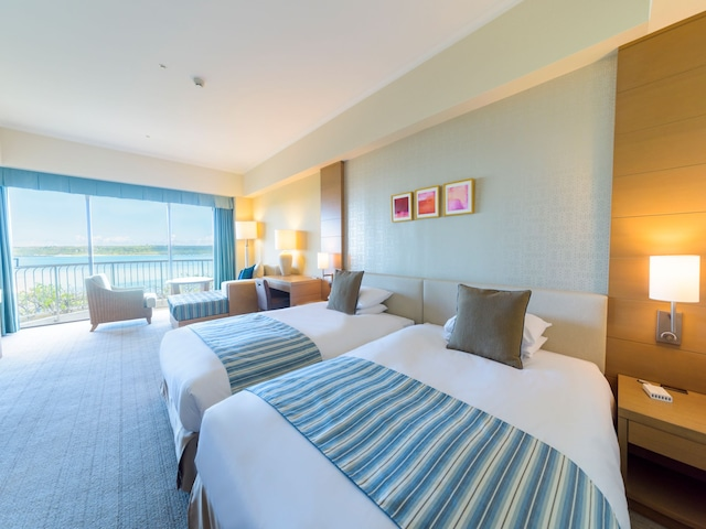 宮古島東急ホテル&リゾーツ プレミアムツインビューバスルーム/コーラルウィング