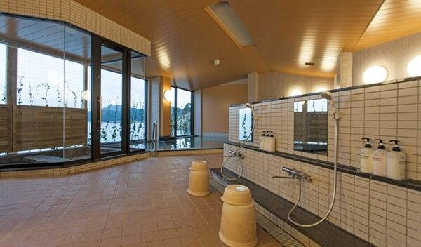 三陸花ホテル はまぎく 大浴場