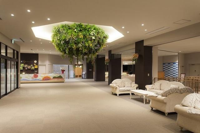 三陸花ホテル はまぎく ロビー
