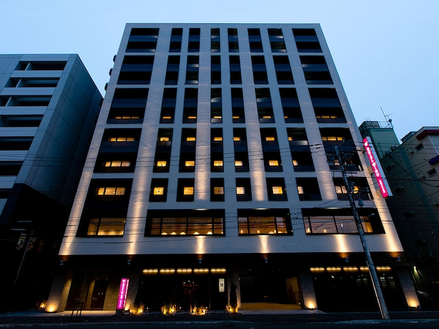 ホテルウィングインターナショナル札幌すすきの 外観