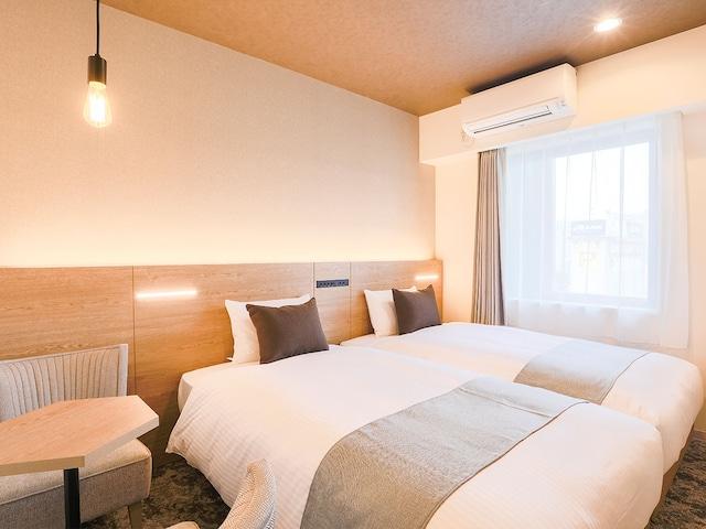 ホテルウィングインターナショナル札幌すすきの ツインルーム