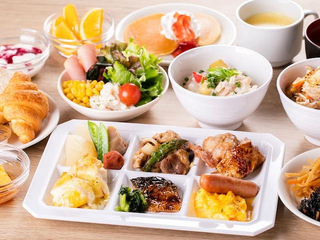 ホテルウィングインターナショナル札幌すすきの 朝食一例