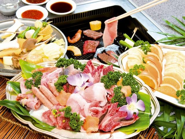 ロイヤルホテル 沖縄残波岬 バーベキューレストラン「ロイヤルパーム」 ※イメージ