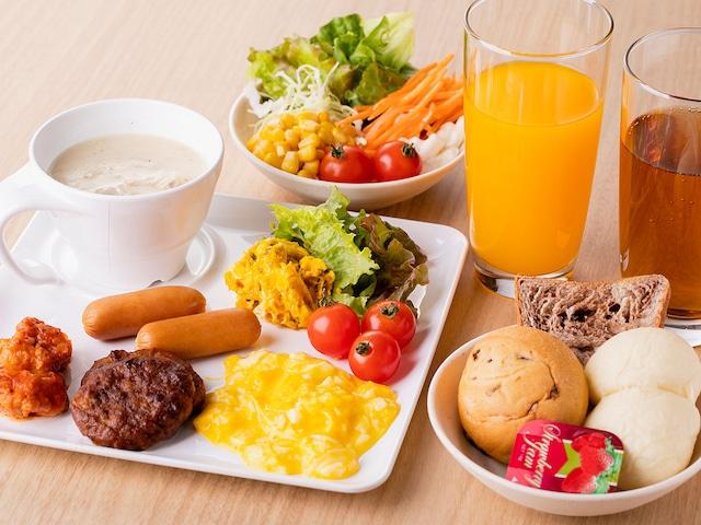 【池袋】ホテルウィングインターナショナル池袋 朝食イメージ(洋食)