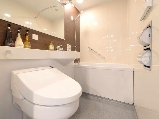 ベッセルイン上野入谷駅前 ツイン バスルーム