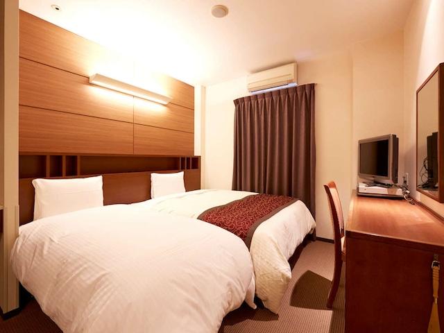 ベッセルホテル福岡貝塚 1ベッドルーム+エキストラベッド 21㎡