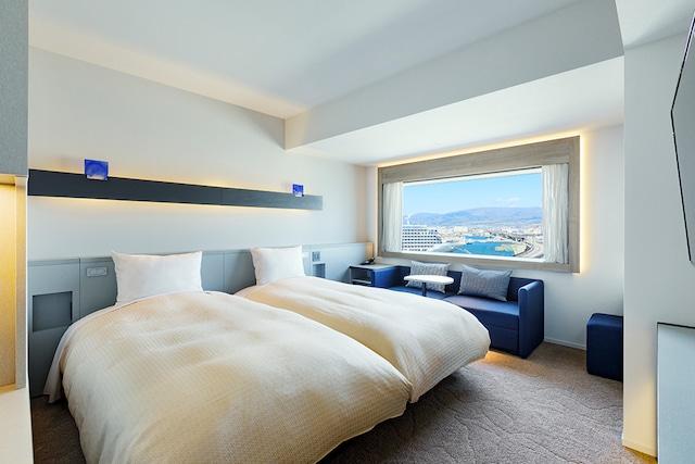 センチュリーマリーナ函館 スタンダードツイン 24㎡ ベッド幅110㎝