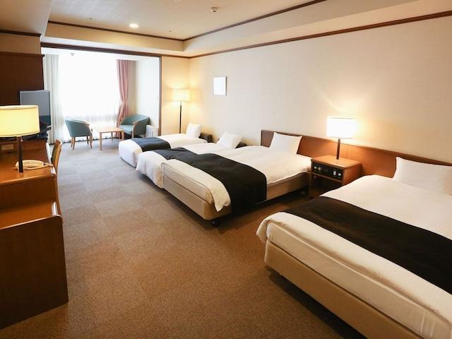 アパホテル札幌すすきの駅西 4名1室