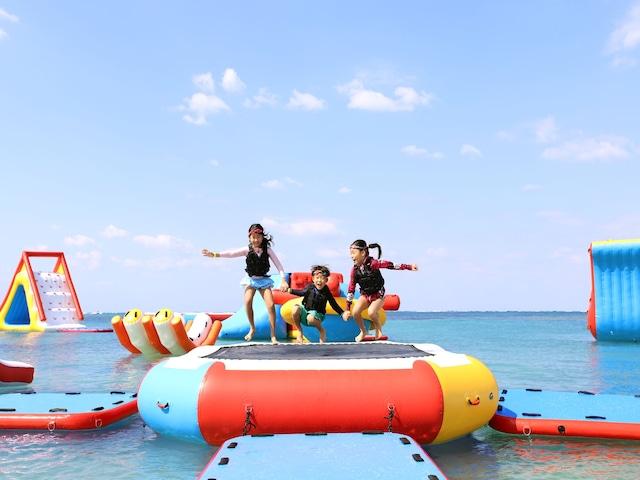 ロイヤルホテル 沖縄残波岬 ウォーターアスレチック(開催期間:4月1日~10月31日)