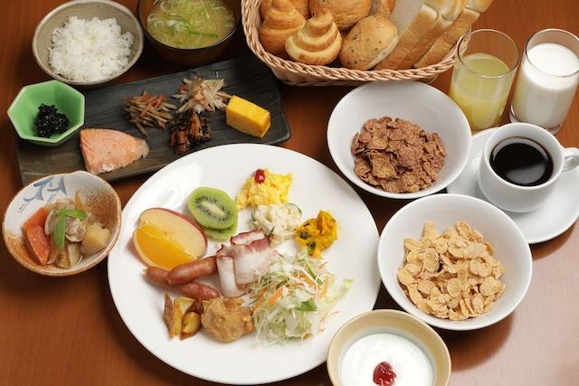 ロッヂ コロポックル 朝食一例