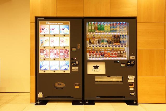 変なホテル金沢 香林坊 自動販売機