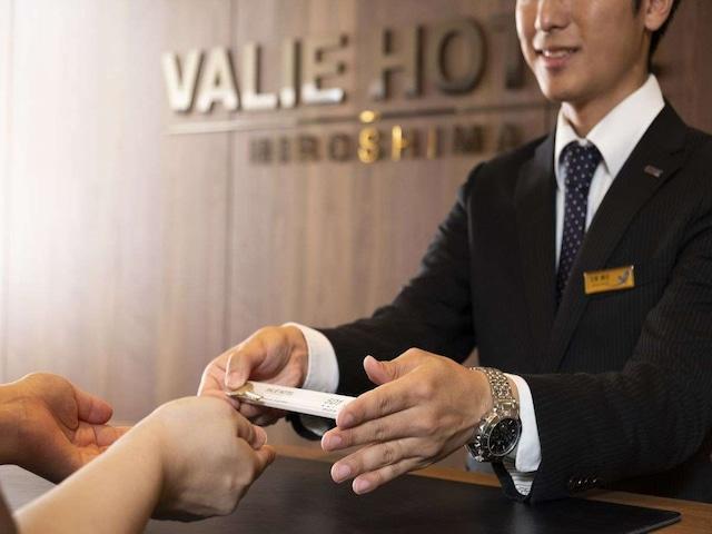 ヴァリエホテル広島 フロント