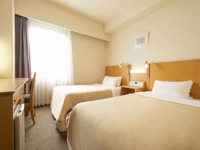 ヴァリエホテル広島 スタンダードツイン 17㎡