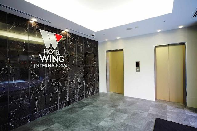 【新宿】ホテルウィングインターナショナル新宿 エレベーターホール