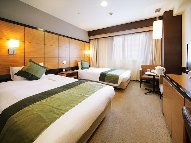 【四谷・新宿】ホテルウィングインターナショナルプレミアム東京四谷 スーペリアツイン