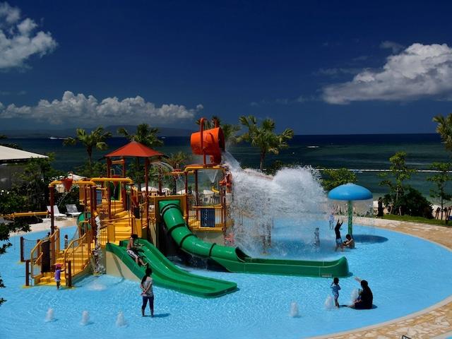 フサキビーチリゾートホテル&ヴィラズ お子様に大人気「スプラッシュパーク」