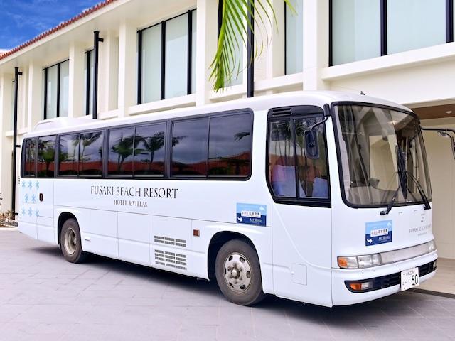 フサキビーチリゾートホテル&ヴィラズ 石垣空港を結ぶ無料送迎バスあり