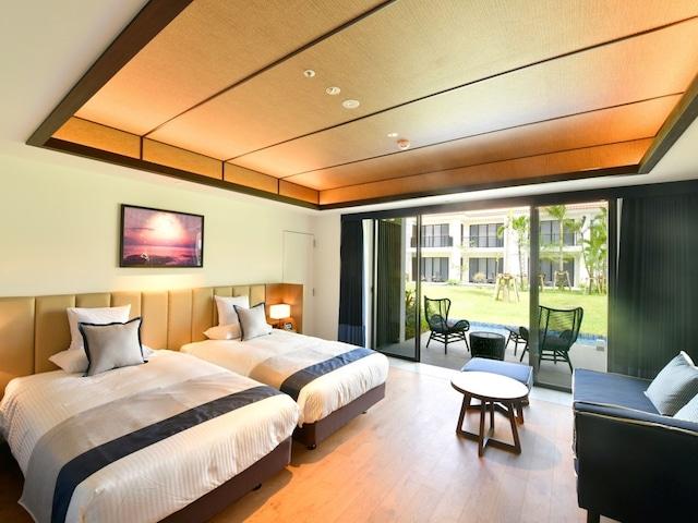 フサキビーチリゾートホテル&ヴィラズ ノースウイング パティオツイン