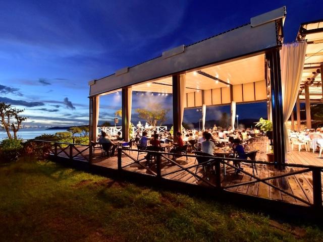 フサキビーチリゾートホテル&ヴィラズ レストラン「シーサイドBBQ 夏至南風」