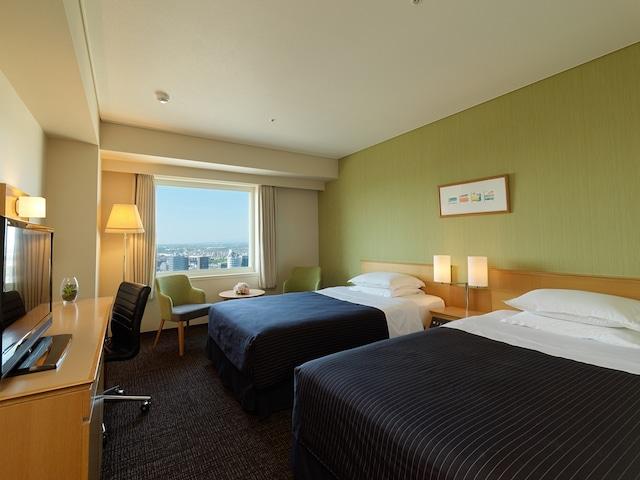ホテルエミシア札幌 ツインルーム
