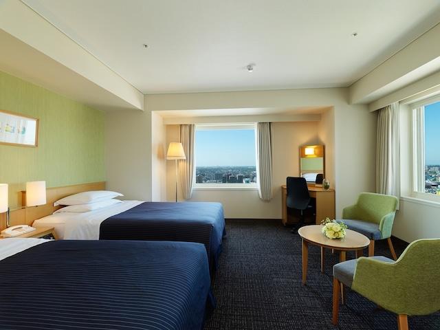 ホテルエミシア札幌 コーナーツインルーム