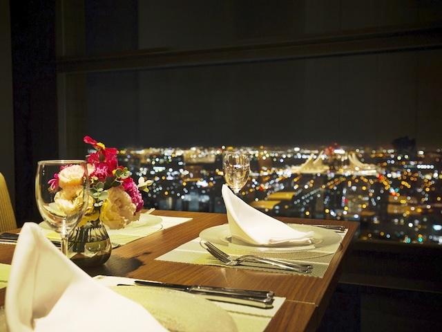 ホテルエミシア札幌 スカイレストラン ハレアス(夜景)