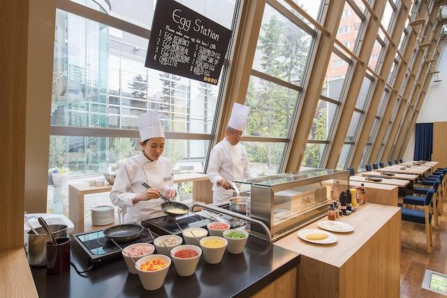 フェアフィールド・バイ・マリオット札幌 朝食(ライブキッチン)