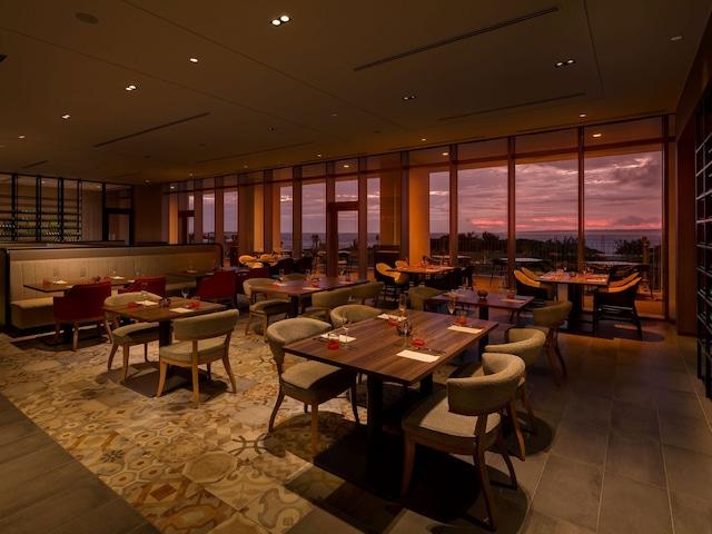ヒルトン沖縄瀬底リゾート イタリアンレストラン「セマーレ」