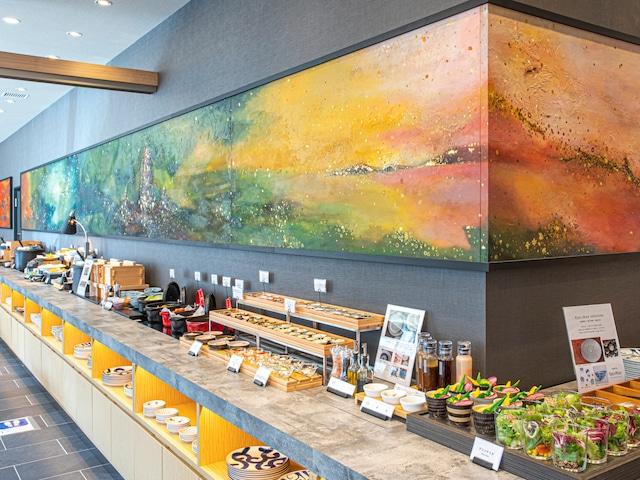 ホテル・トリフィート博多祇園 朝食会場