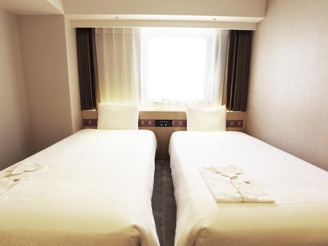 変なホテル奈良 スタンダードツイン 17.9~21.2㎡