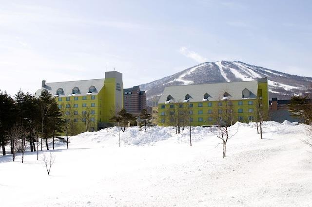 安比高原温泉ホテル 外観(冬)