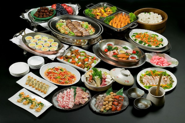 安比高原温泉ホテル 夕食(バイキング)
