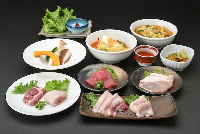 安比高原温泉ホテル 夕食(焼肉)