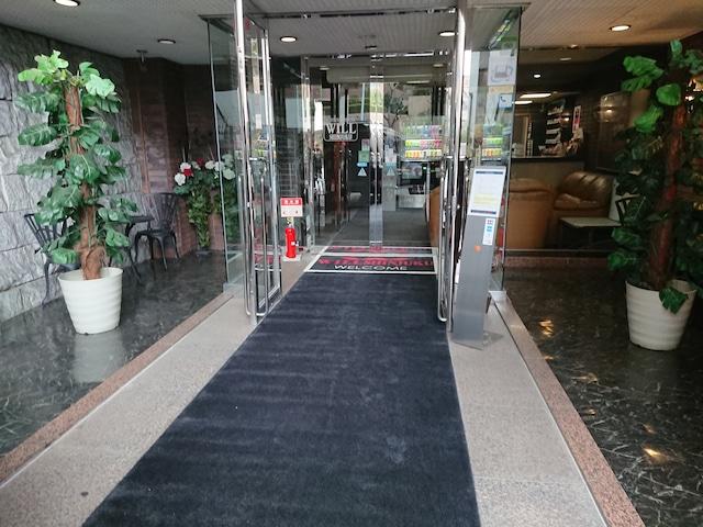 レジデンスホテル ウィル新宿 エントランス