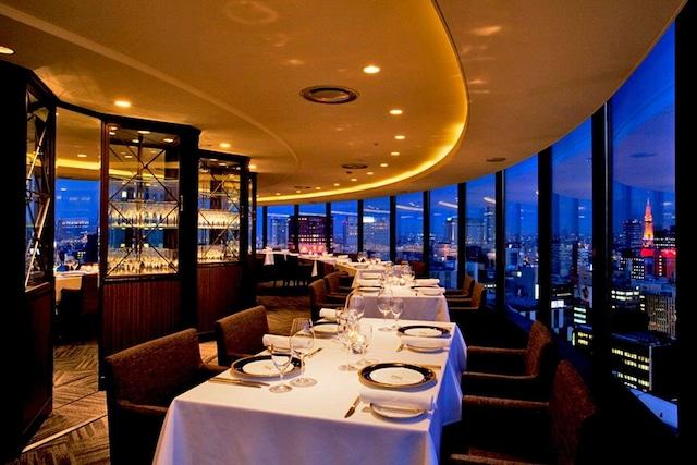 センチュリーロイヤルホテル スカイレストラン ロンド