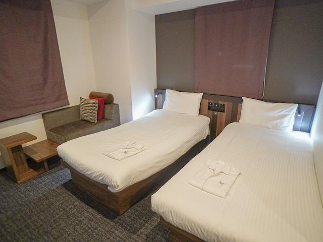 変なホテル東京 銀座 ツインルーム