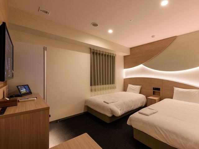 変なホテル東京 浅草田原町 デラックスツイン 20~20.5㎡
