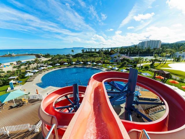 シェラトン沖縄サンマリーナリゾート ウオータースラーダー&プール