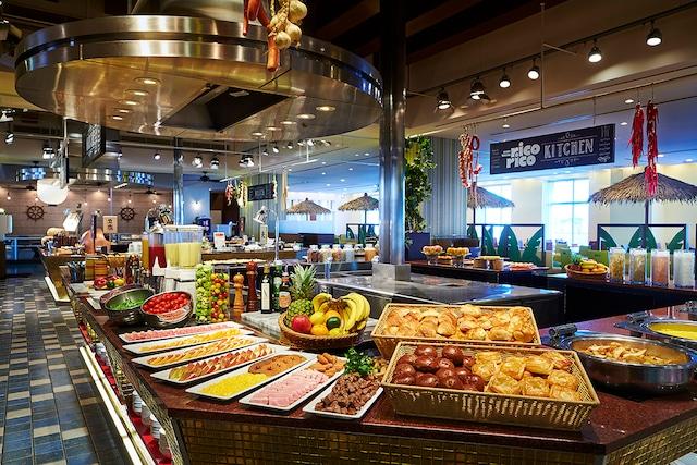 ホテルユニバーサルポート レストラン ricorico