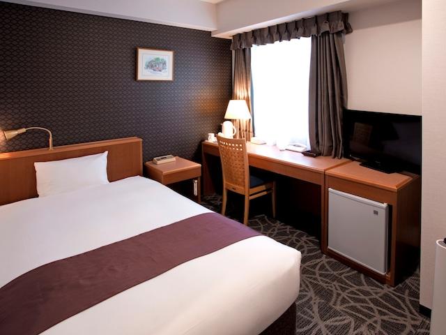天然温泉八百治の湯 八百治博多ホテル シングルルーム 16.9㎡