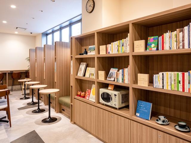 コンフォートホテル松山 ライブラリーカフェ