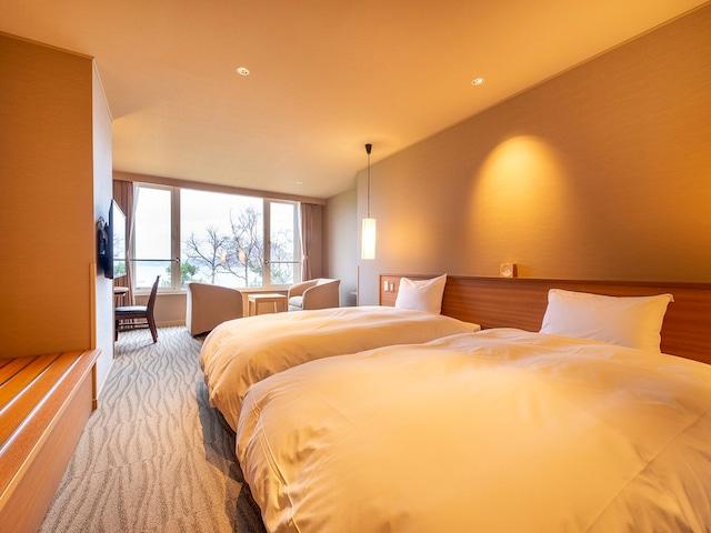 洞爺湖万世閣ホテル レイクサイドテラス 東館 洋室一例