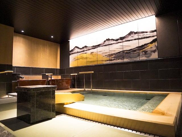 函館湯の川温泉 海と灯 大浴場(女性)